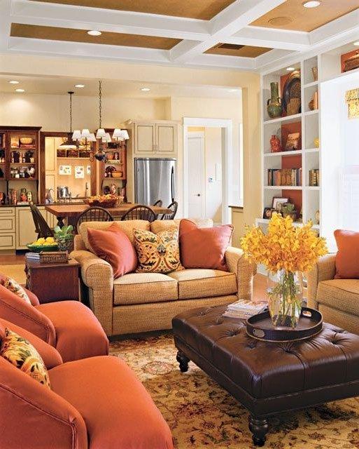 Colores c lidos en decoraci n fotos e ideas de for Deco interiores