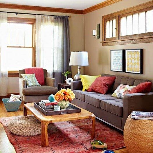 colores c lidos en decoraci n fotos e ideas de combinaciones brico y deco. Black Bedroom Furniture Sets. Home Design Ideas
