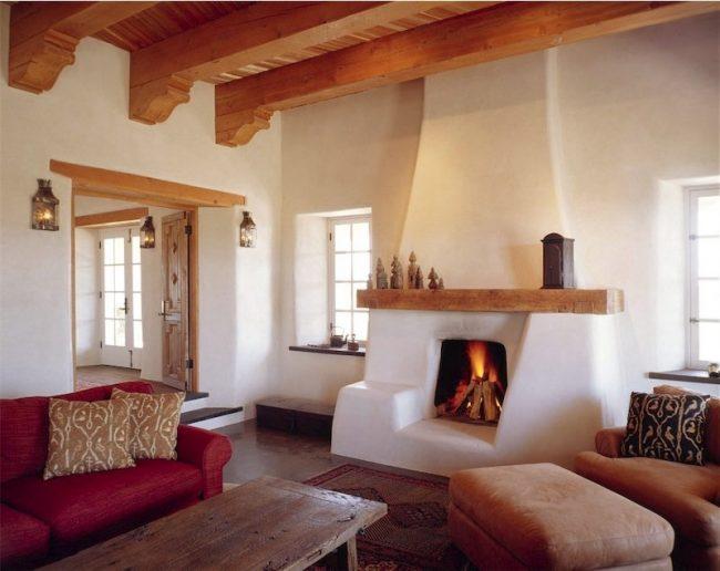 Muebles De Cocina Madera Rustica : Interiores de casas rústicas fotos diseño y