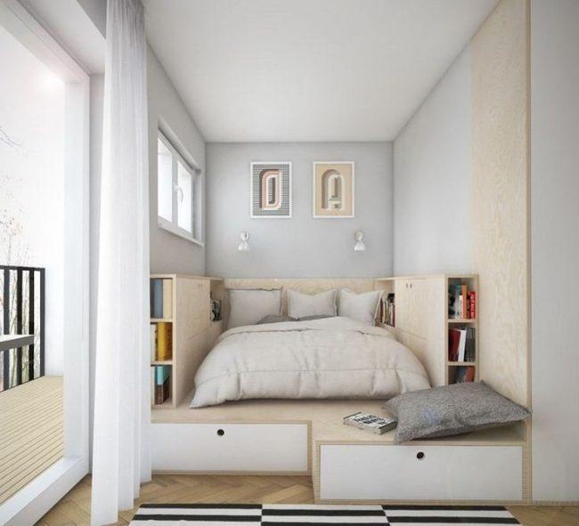 Dormitorios pequeños 50 imágenes de decoración e ideas modernas