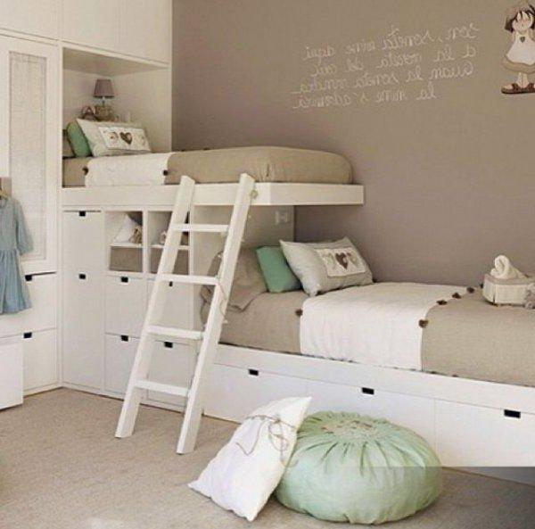 Cuartos de ni as modernos 60 fotos e ideas de decoraci n - Muebles para cuarto de nina ...