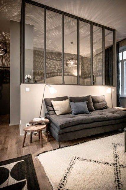 separadores de ambientes 45 ideas modernas y bonitas brico y deco. Black Bedroom Furniture Sets. Home Design Ideas
