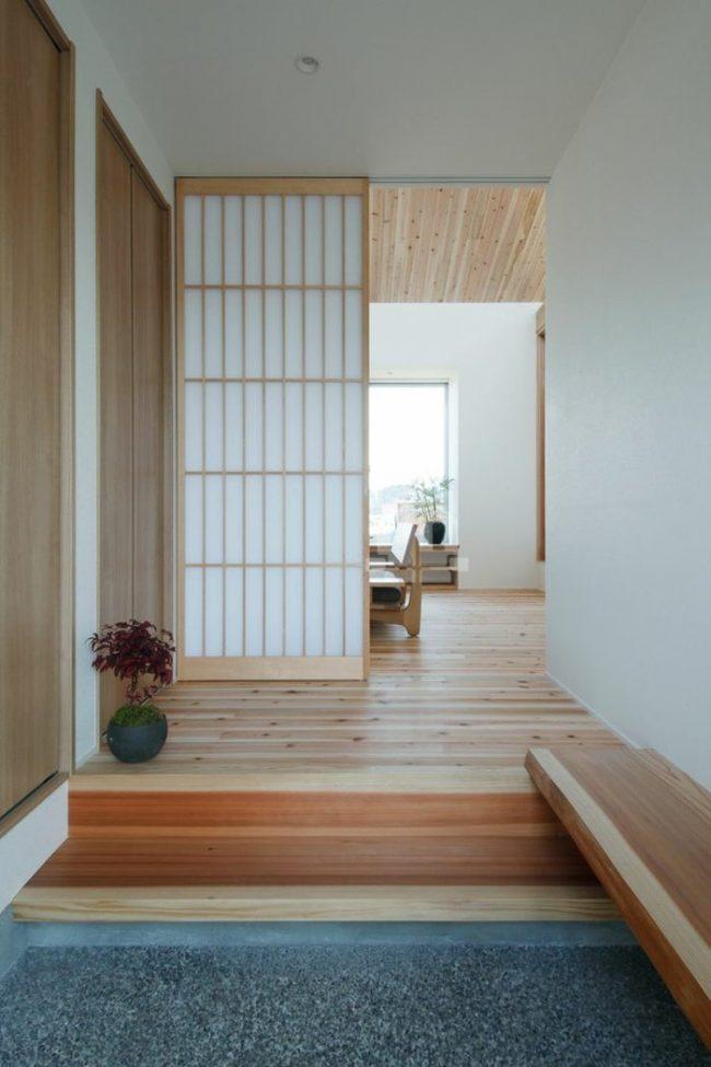 Casas japonesas modernas 70 fotos y consejos de decoraci n for Puertas japonesas