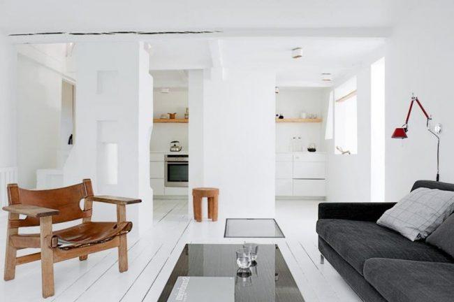 Salones Blancos 40 Fotos E Ideas De Decoracion Para Inspirarse - Salones-blanco-y-beige