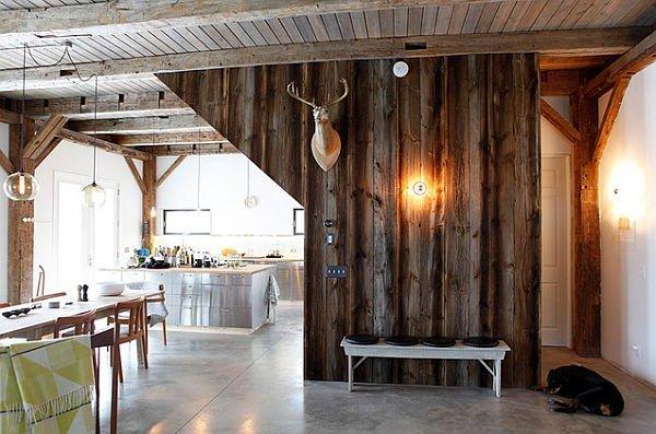 Interiores de casas rústicas 40 fotos de diseño y decoración | Brico ...