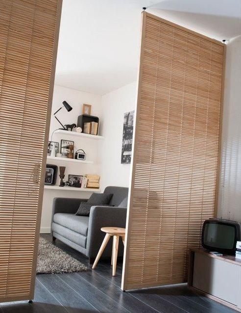 separadores de ambientes 45 ideas modernas y bonitas. Black Bedroom Furniture Sets. Home Design Ideas
