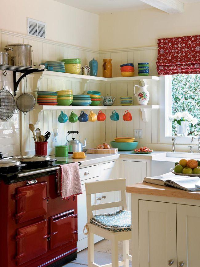 Colores para cocinas 2019 70 fotos y tendencias modernas for Ideas para cocinas pequenas rusticas
