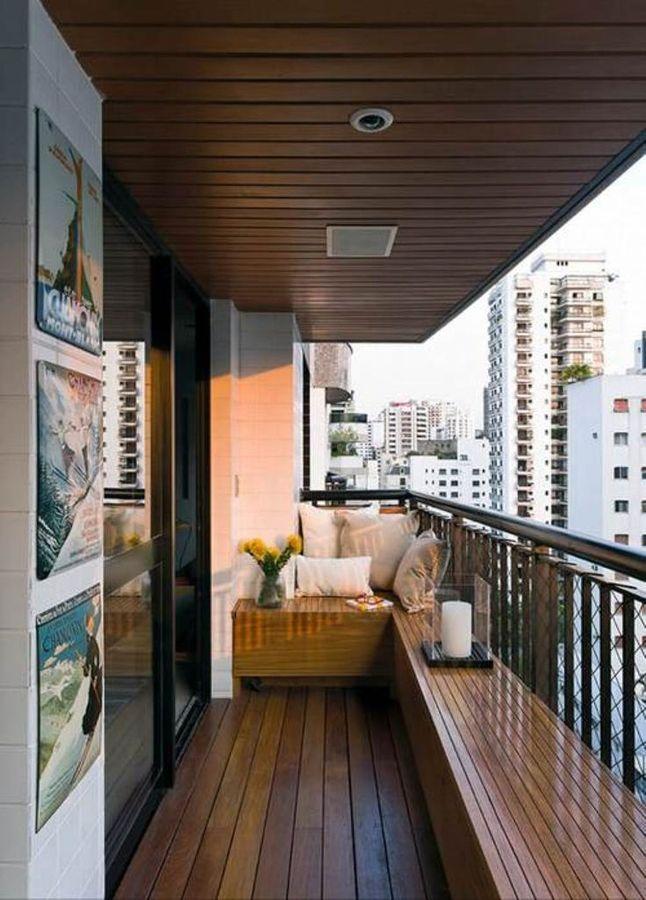 la colocacin de maceteros grandes har que el balcn se sienta lleno de vida - Decoracion Balcones