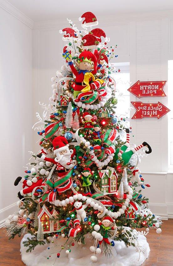 Decorar El Arbol De Navidad 2019.Arboles De Navidad Decorados 2019 2020 Brico Y Deco