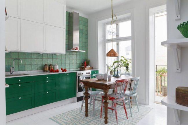 Cocinas verdes