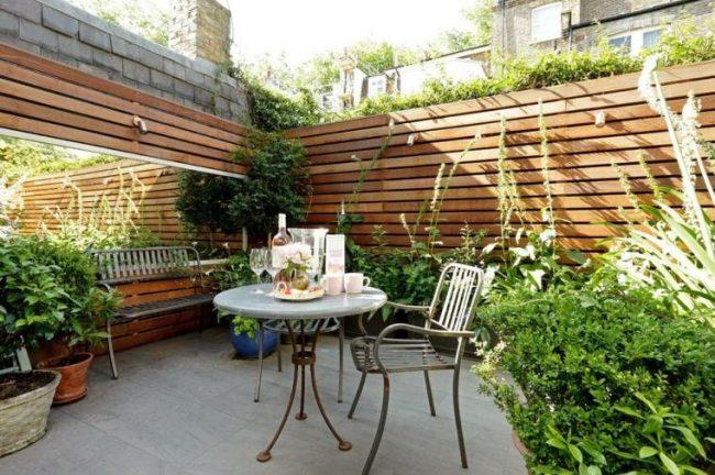 jardines de patios pequeos