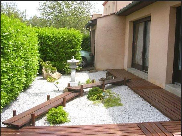 Jardines con piedras 45 fotos y sugerencias para su dise o - Decoracion jardin zen ...