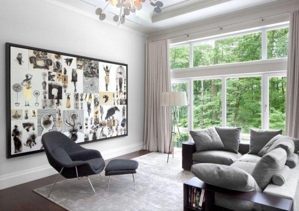 40 salones minimalistas dise os modernos y consejos de decoraci n brico y deco - Muebles de salon minimalistas ...
