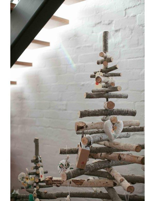 arboles reciclados de corchos