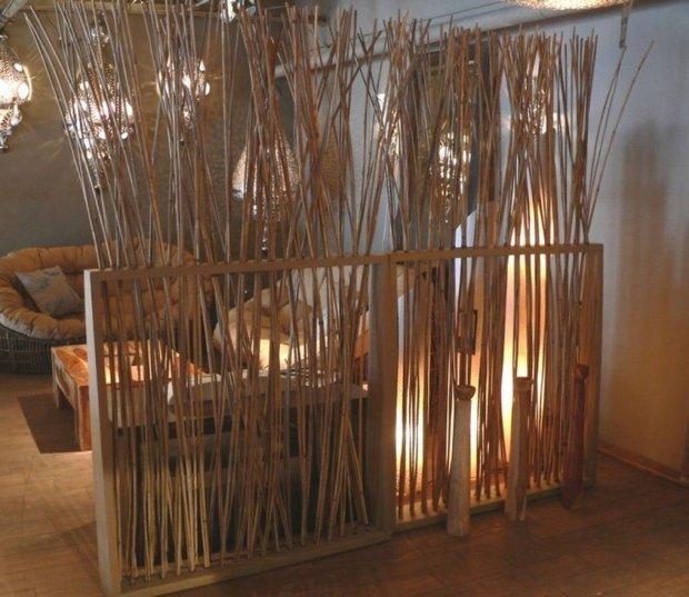 Separadores de ambientes 45 ideas modernas y bonitas - Separadores de ambientes de cristal ...