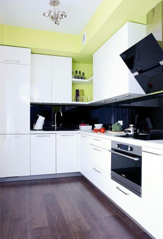 Cocinas verdes modernas 35 fotos e ideas de diferentes for Cocinas diferentes