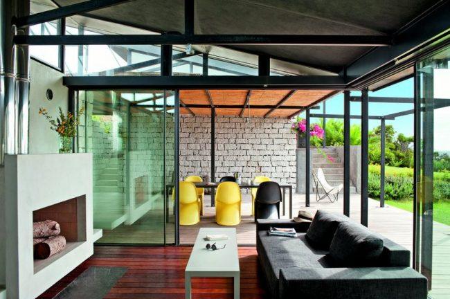 40 salones minimalistas dise os modernos y consejos de decoraci n brico y deco - Salones modernos minimalistas ...