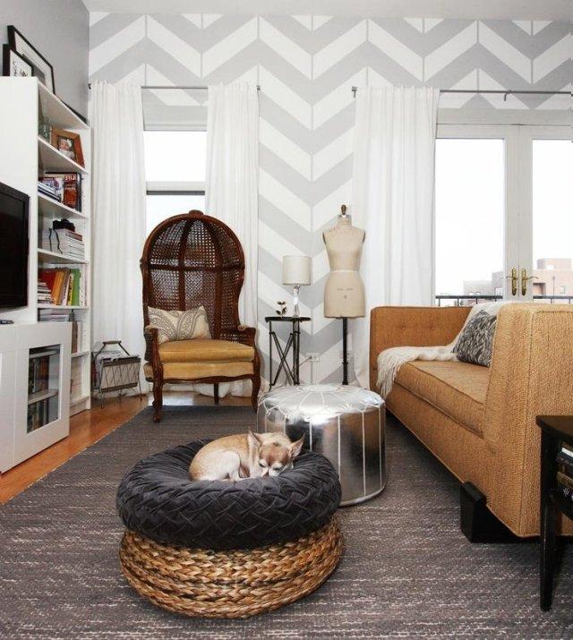 Paredes gris perla decoracion trendy paredes grises para - Paredes grises ...