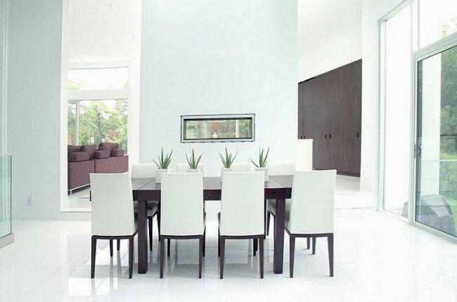 45 comedores minimalistas diferentes estilos y dise os for Comedores minimalistas