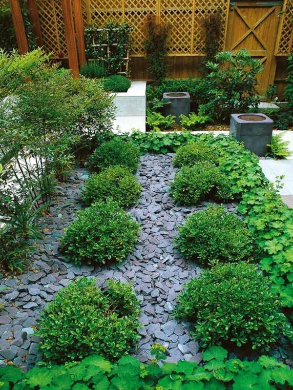 Jardines con piedras 45 fotos y sugerencias para su dise o for Jardines decorados con piedras y plantas