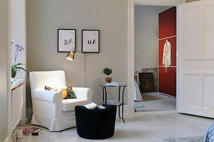 Paredes grises 60 fotos y consejos de decoraci n brico y - Decoracion paredes grises ...