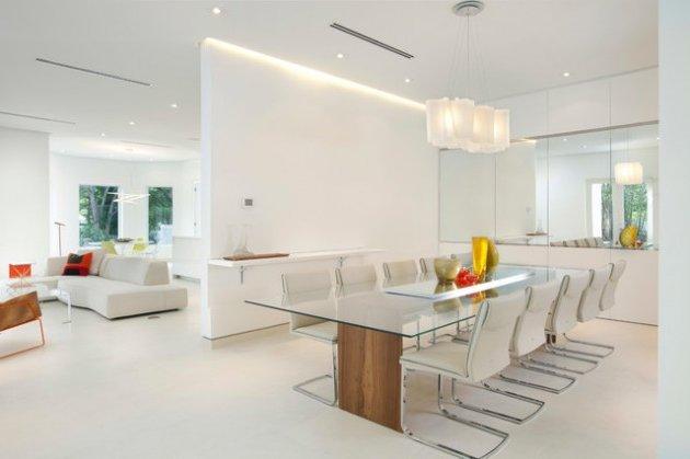 45 comedores minimalistas diferentes estilos y dise os for Interior sinonimos