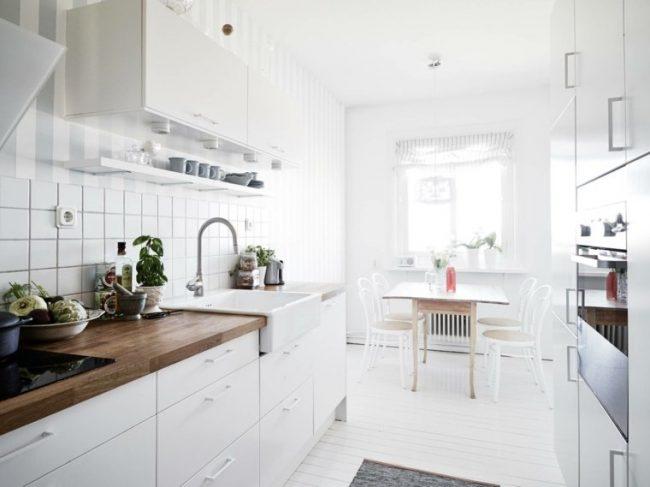 Cocinas blancas 70 fotos inspiradoras e ideas