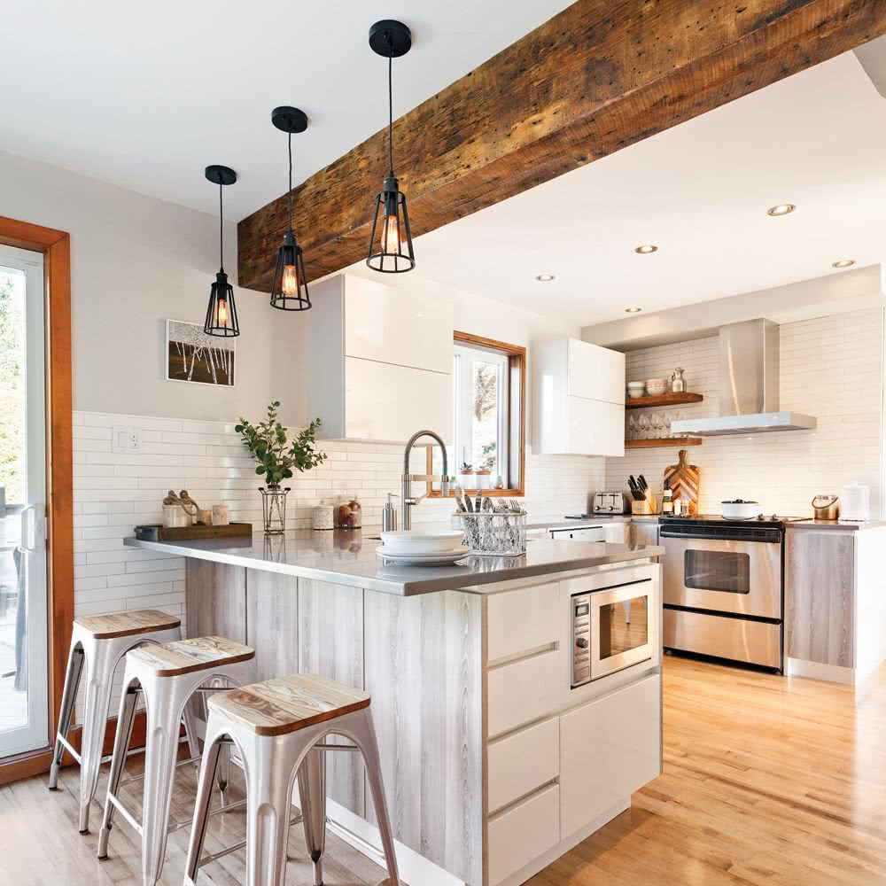 Cocinas rústicas 25 imágenes de decoración y diseño