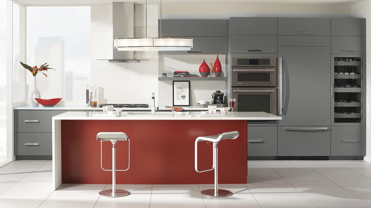 Cocinas Rojas 40 Fotos Y Combinaciones De Colores