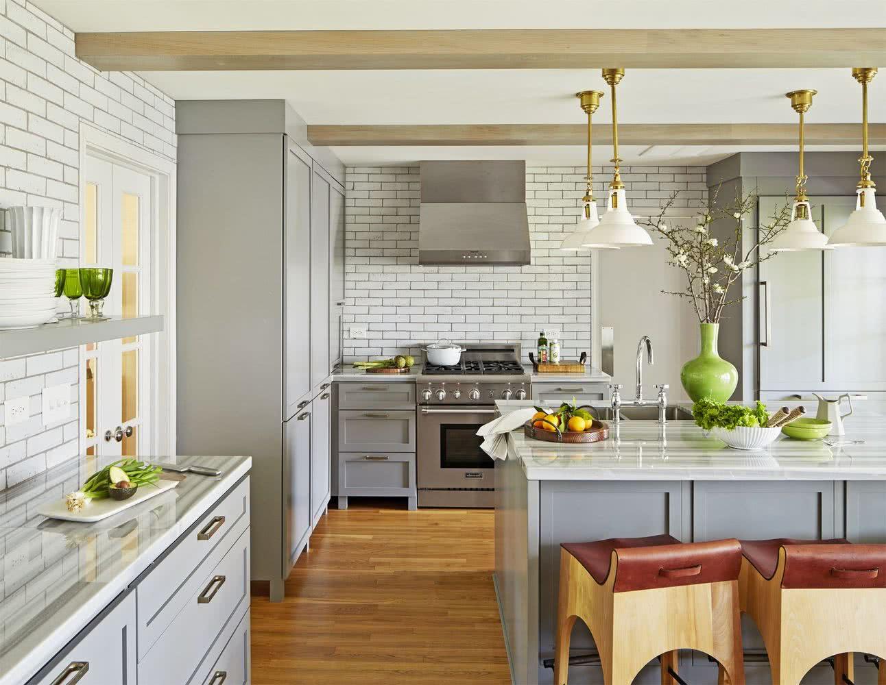 Cocinas Grises 40 Fotos De Disenos Modernos Y Fabulosos
