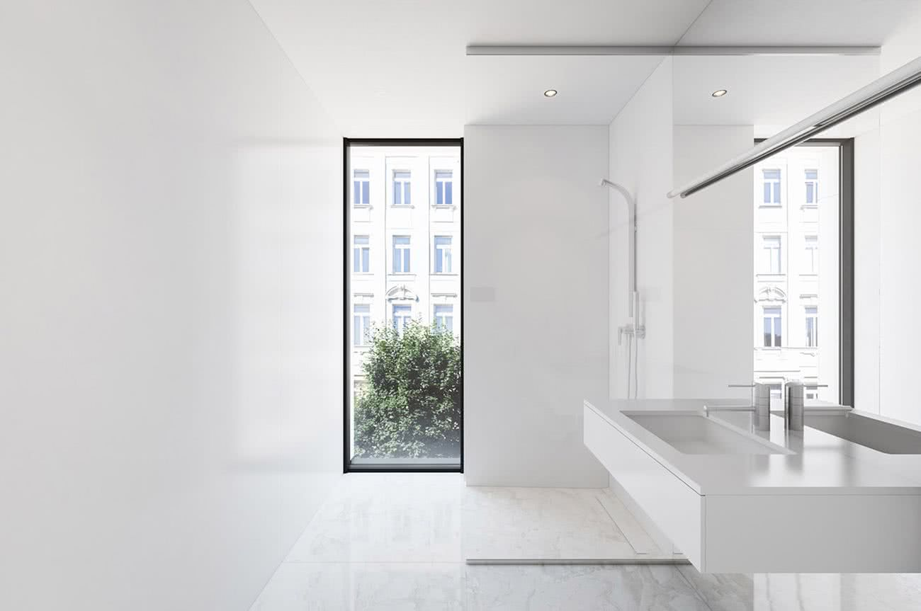 40 baños minimalistas – propuestas de diseño y decoración