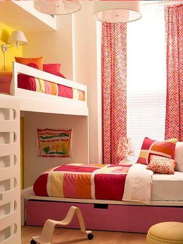 Dormitorios infantiles 60 fotos e ideas modernas de - Soluciones dormitorios pequenos ...