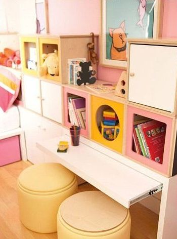 Dormitorios infantiles 60 fotos e ideas modernas de for Ideas muebles para poco espacio