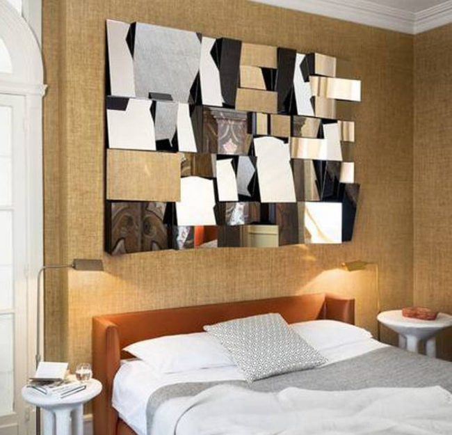 Decoraci n de paredes con espejos 35 fotos de ideas for Espejos grandes para comedor