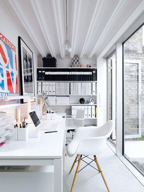 100 oficinas modernas y muchas ideas de decoraci n creativas brico y deco for Decoracion de oficinas creativas