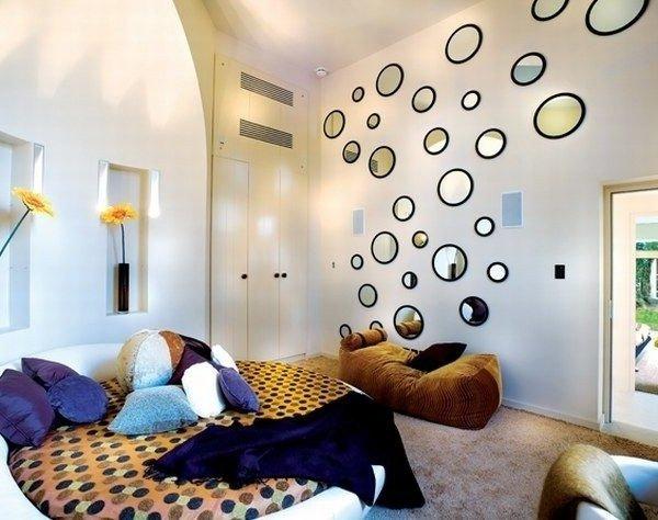 Decoraci n de paredes con espejos 35 fotos de ideas - Espejo cuerpo entero ikea ...