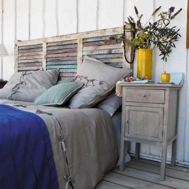 50 cabeceros de cama originales f ciles de hacer brico y - Ideas cabeceros originales ...