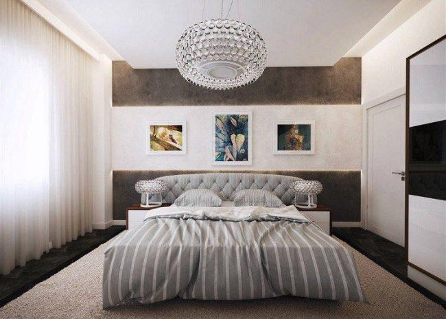 65 habitaciones modernas 2019 y muchas ideas de decoraci n y colores - Lampadario camera da letto classica ...