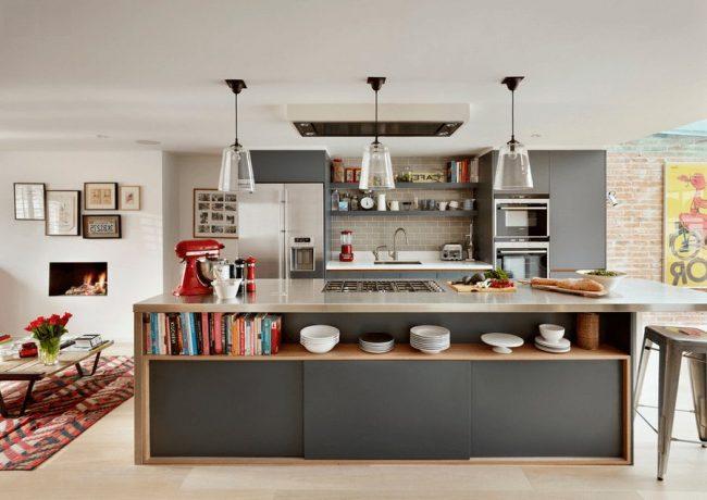 Cocinas con isla 40 fotos ideas y diseños modernos   Brico y Deco