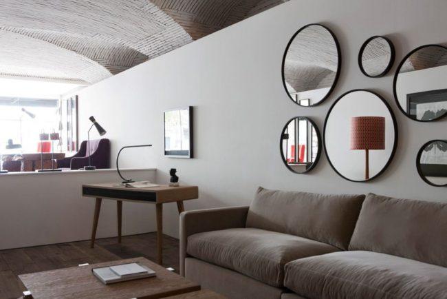 Decoración de paredes con espejos 35 imágenes de ideas creativas