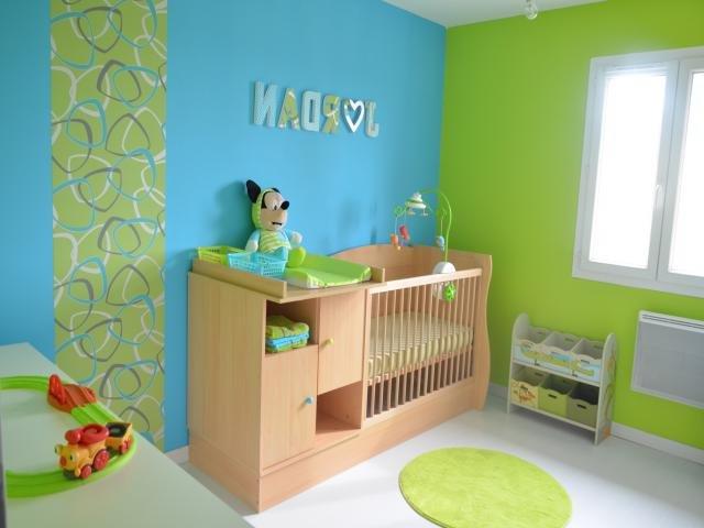 40 habitaciones de beb modernas y tips de decoraci n - Habitaciones pintadas para ninos ...