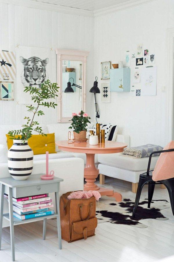 Decoraci n de salas 2019 150 im genes y tendencias modernas for Sillones para apartamentos pequenos