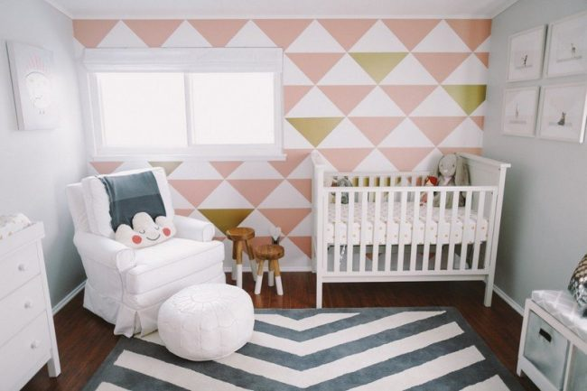 40 habitaciones de beb e ideas de decoraci n modernas for Estilo arquitectonico que usa adornos con plantas y animales