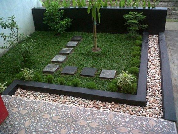 Decoraci n de jardines y patios modernos 140 fotos para for Jardines de patios modernos