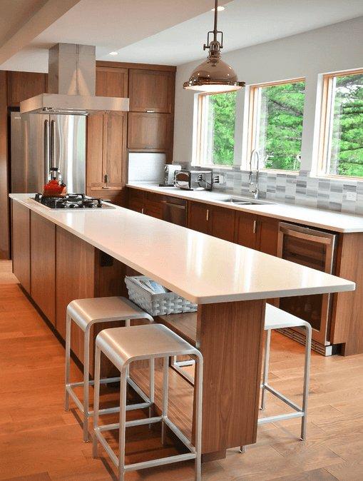 Cocinas con isla 40 imágenes ideas y diseños modernos