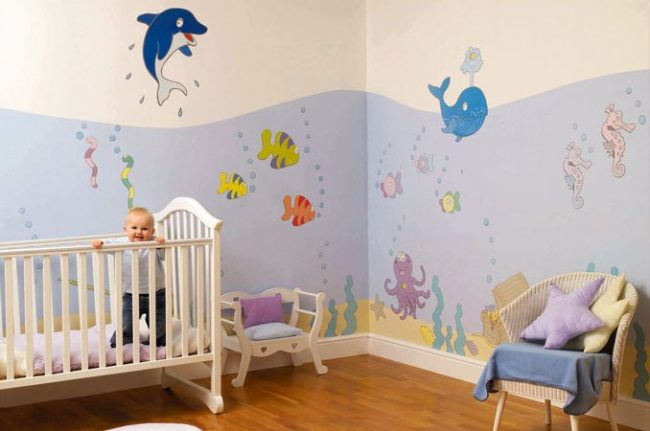 40 habitaciones de beb e ideas de decoraci n modernas - Habitaciones con luces ...