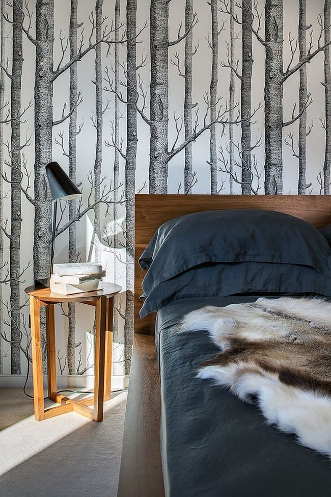 Papel pintado de pared decorativo y moderno 2018 brico y for Papel pintado pared salon