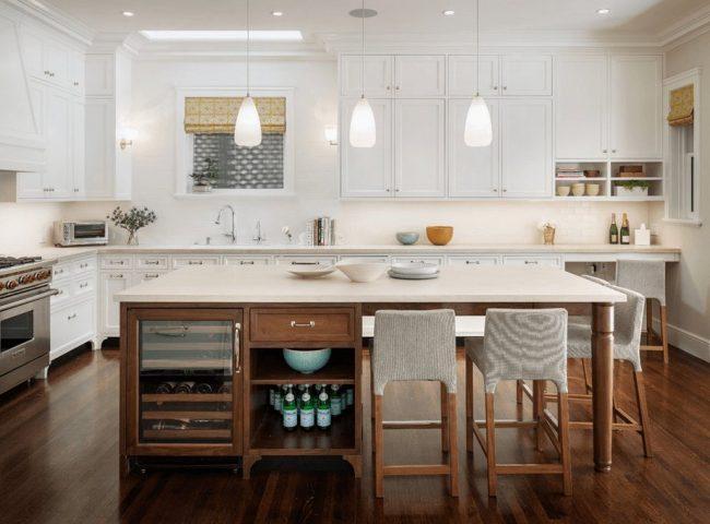 Cocinas con isla 40 fotos ideas y diseños modernos