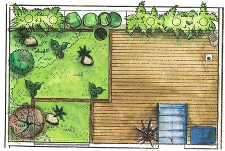 Dise o de jardines y patios 160 fotos e ideas modernas y for Plantas modernas para jardin