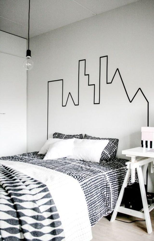 50 cabeceros de cama originales f ciles de hacer brico y - Ideas para hacer cabeceros de cama ...